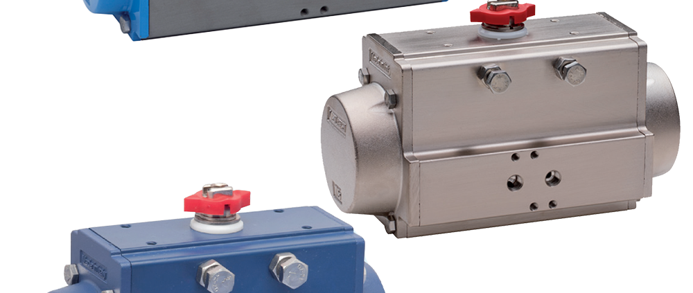 Stainless Steel and PTFE Pneumatic Actuators