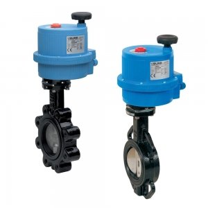 Electrically Actuated Butterfly Valves